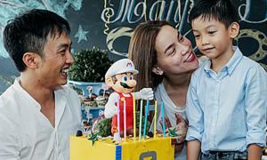 Hà Hồ - Cường Đô La cùng tổ chức sinh nhật cho con
