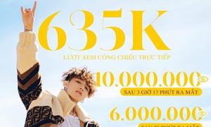 'Hãy trao cho anh' là MV có lượt xem cao nhất thế giới trong 24h qua
