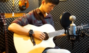 'Hãy trao cho anh' phiên bản guitar nghe lạ tai