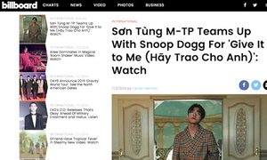 Nhiều trang âm nhạc quốc tế nhắc đến Sơn Tùng nhờ 'Hãy trao cho anh'