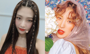 Red Velvet mặc đồ 'quê' nhưng làm tóc rất 'đỉnh'