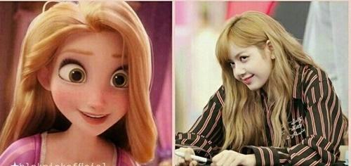 Jennie từng nhận xét Lisa giống như vật Rapunzel. Cả hai đều có tính cách nghịch ngợm, tươi sáng và luôn suy nghĩ tích cực.
