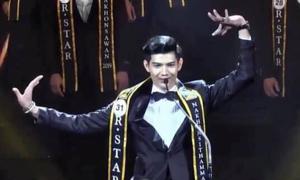 Màn giới thiệu như 'tấu hài' của thí sinh Nam vương Thái Lan