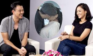 Tuấn Tú - Thu Quỳnh: 'Chúng tôi không hôn như những người yêu nhau'