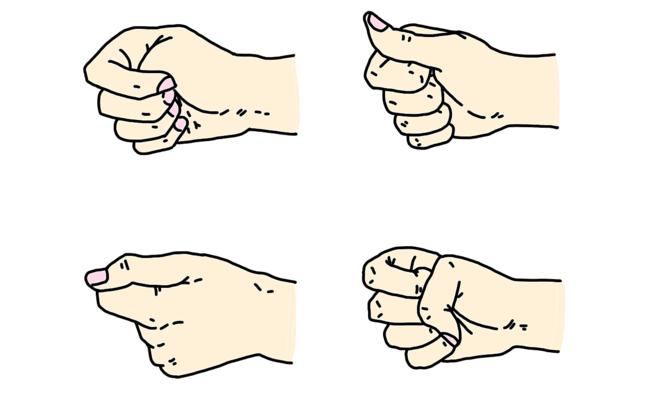 Trắc nghiệm: Nhìn thấu tâm can người khác qua cách siết tay thành nắm đấm