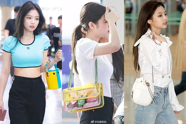 Ước tính, Jennie đã chi khoảng hơn 143.000 USD (tương đương 3,3 tỷ đồng) cho bộ sưu tập túi xách, mang đến diện mạo luôn rất ấn tượng tại sân bay.