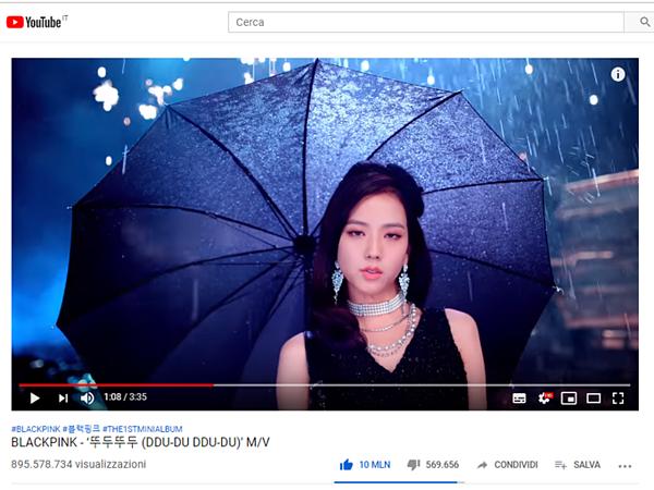 Sau hơn 1 năm ra mắt, MV Ddu-du Ddu-du vẫn rất hot trên YouTube.