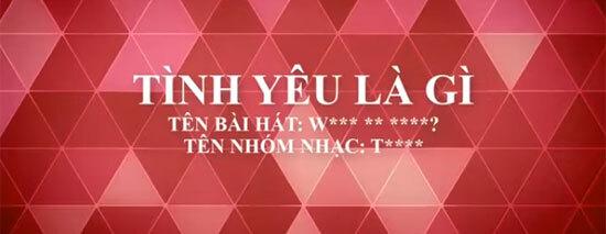 Đoán tên ca khúc Kpop khi được Việt hóa (3)