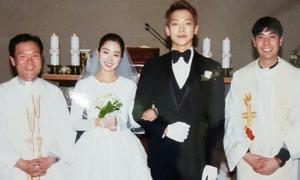 Ảnh cưới chưa tiết lộ của Bi Rain - Kim Tae Hee được so sánh với Song - Song
