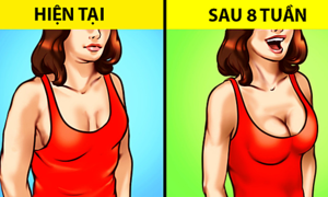 7 cách làm săn chắc vòng một cho hội con gái
