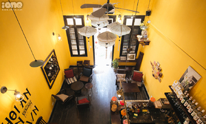 'Hội An thu nhỏ' trong quán cà phê giữa lòng Hà Nội
