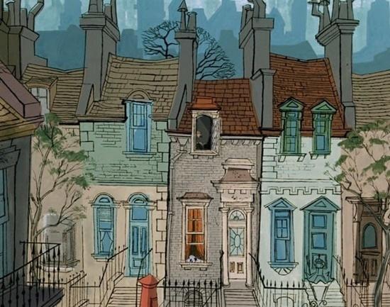 Bạn có biết những ngôi nhà này xuất hiện trong phim Disney nào?