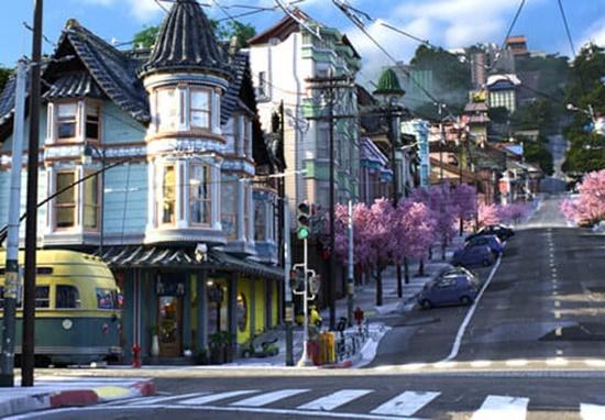 Bạn có biết những ngôi nhà này xuất hiện trong phim Disney nào? - 4