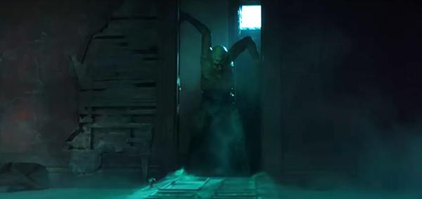 Quái nhân The Jangly Man, quái vật hoàn toàn mới do del Toro tạo ra cho bộ phim