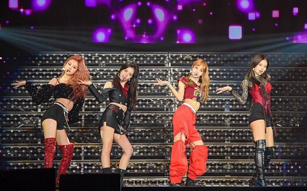 Ngày 24/7/2018, Black Pink khởi động tour diễn Black Pink In Your Area 2018 với concert đầu tiên được tổ chức ở Osaka, Nhật Bản.