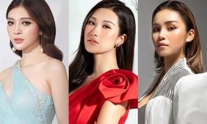 Dàn thí sinh quen mặt tại Hoa hậu Hoàn vũ Việt Nam 2019