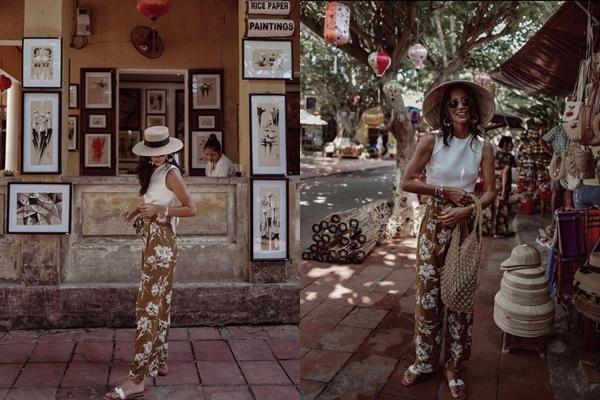 Tháng 6/2019, Hoa hậu Carolyn Carter (Miss US Virgin 2016) cũng chọn Hội An là điểm dừng chân trong chuyến hành trình khám phá đất nước Việt Nam. Cô cũng thăm thú những con phố cổ, chọn nghỉ dưỡng ở một resort.
