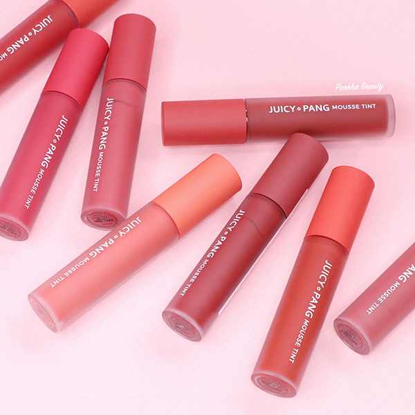 APieu là thương hiệu Hàn Quốc nổi tiếng với những sản phẩm làm đẹp xinh yêu cho các cô gái độ tuổi 20.A'pieu Juicy Pang Mousse Tint