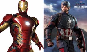 Iron Man và Captain America: Ai là siêu anh hùng số một trong lòng bạn?