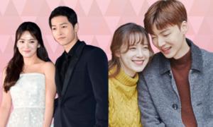 5 điểm trùng hợp giữa Song Joong Ki - Song Hye Kyo và Goo Hye Sun - Ahn Jae Hyun