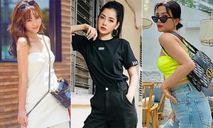 Street style sang chảnh với hàng hiệu của mỹ nhân Việt tuần qua