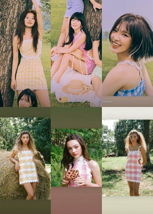 Những outfit chủ đạo trong màncomeback của Red Velvet bị tố ăn cắp ý tưởng của hãng Paris 99.