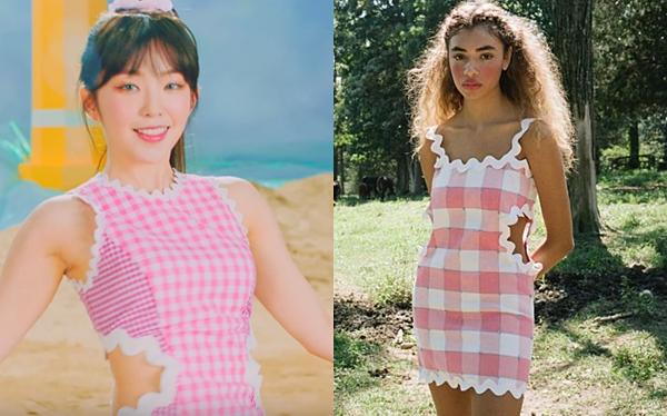 Những outfit nói trên cũng được Red Velvet mặc trong MV Umpah Umpahvừa phát hành.