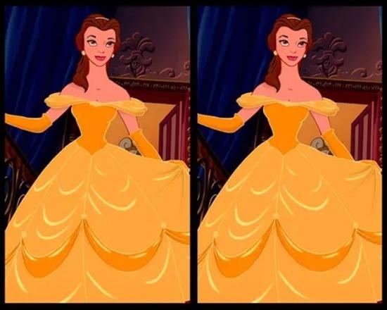 Có điểm gì khác biệt trên bộ váy của công chúa Disney? - 9