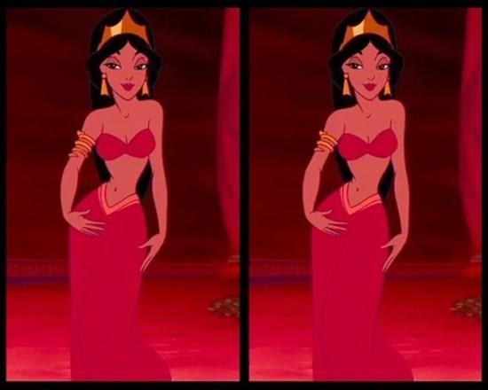 Có điểm gì khác biệt trên bộ váy của công chúa Disney? - 1