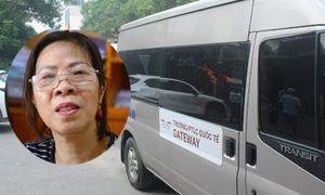 Bà Nguyễn Bích Quy bị bắt tạm giam