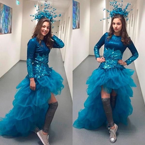 Sofiya là người mẫu tuổi teen.