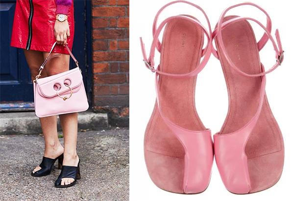 Celine ra liên tục các mẫu giày bít ngón cái.