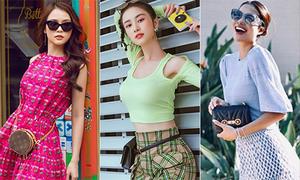 Street style rực rỡ sắc màu của mỹ nhân Việt tuần qua