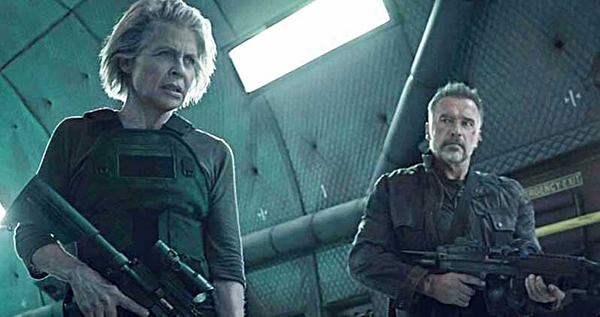 2 ngôi sao nổi tiếng với Kẻ hủy diệt là Linda Hamilton và Arnold Schwarzenegger trở lại trong phần này.