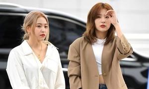 Red Velvet khoe style hút mắt ở sân bay
