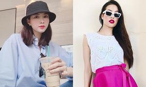 Công thức ăn mặc 'hack tuổi' của Phạm Hương - Thu Thảo