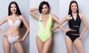 Thí sinh Hoa hậu Hoàn vũ Việt Nam 2019 diện bikini