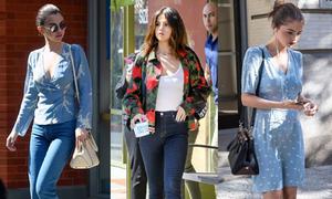 Cách mix đồ từ đời thường lên thảm đỏ của Selena Gomez