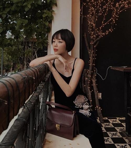 Tóc Tiên khiến nhiều fan khó nhận ra với kiểu tóc bum bê xinh xắn.