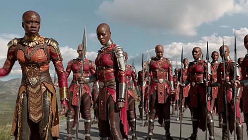 Dàn nữ phụ hùng hậu của Black Panther.