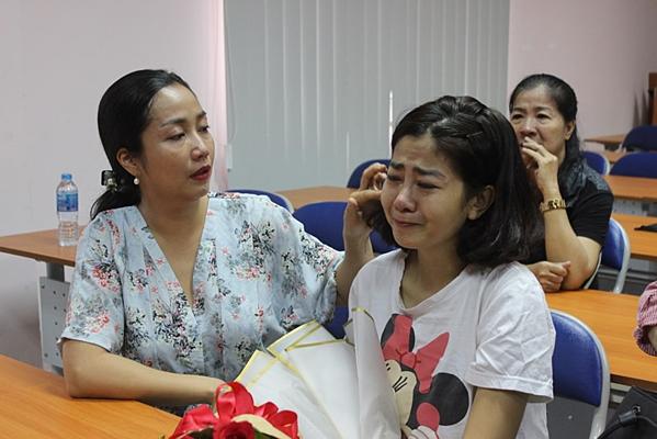Ốc Thanh Vân luôn bên cạnh Mai Phương một năm qua.