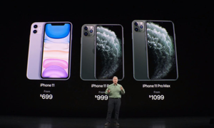 Apple ra mắt iPhone 11, 11 Pro và 11 Pro Max