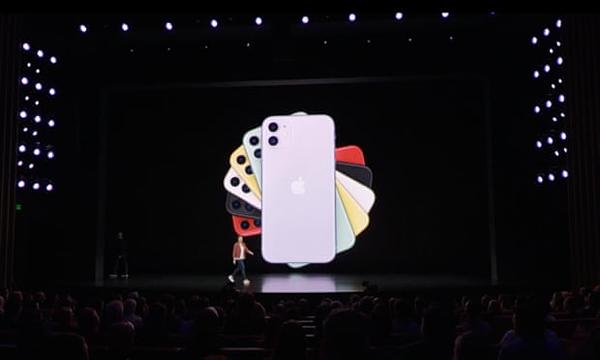 Hãng trình làng iPhone 11. Ảnh: Apple.