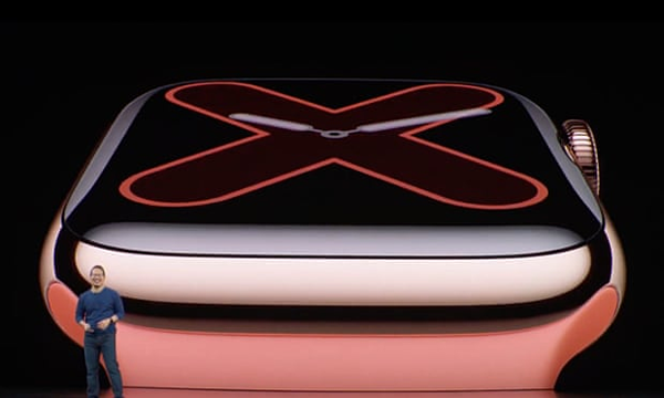 Dòng sản phẩm Apple Watch 5. Ảnh: Apple.