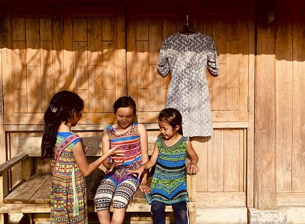 Tây Bắc là cảm hứng của Lê Thanh Hòa trong bộ sưu tập này.