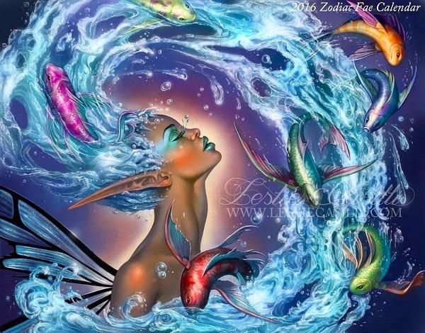 Bảo Bình lột xác làm nữ thủy quái rung chuyển biển cả.