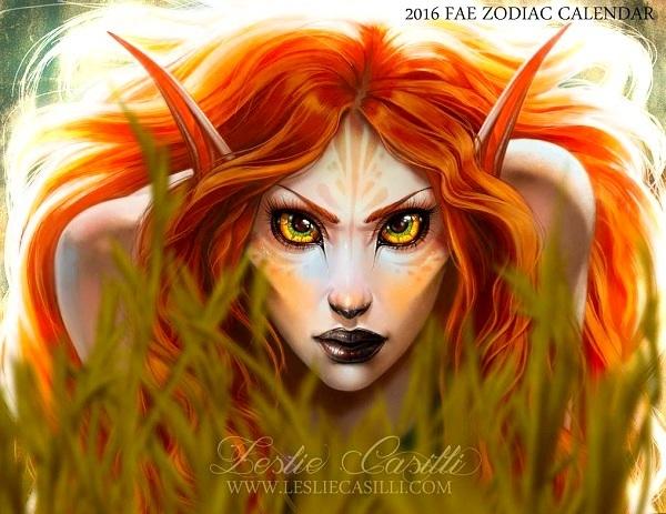 Sư Tử hóa thú dữ với đôi mắt rực lửa và sáng quắc.