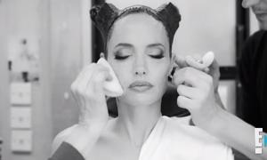 Cách tạo gò má nhọn hoắt cho Angelina Jolie trong 'Maleficent'