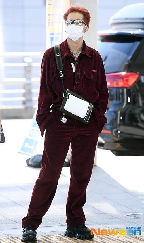 ...và Song Mino đều có gu thời trang thời thượng.