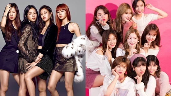Black Pink và Twice vắng mặt ở top 10.
